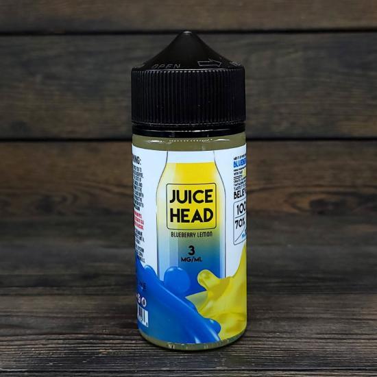 Жидкость Juice Head Blueberry Lemon 100мл 3мг | оригинал