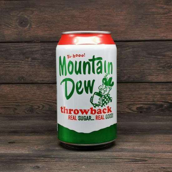 Напиток Mountain Dew Throwback 0,355л | оригинал