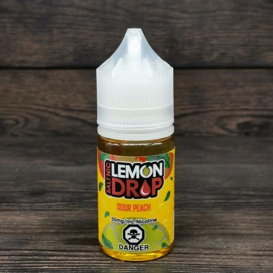 Жидкость Lemon Drop Salt Sour Peach 30мл 50мг | оригинал