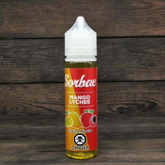 Жидкость Sorbae Mango Lychee 60мл 3мг | оригинал