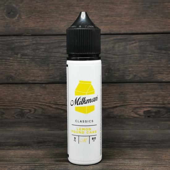 Жидкость The Milkman Lemon Pound Cake 60мл 3мг | оригинал