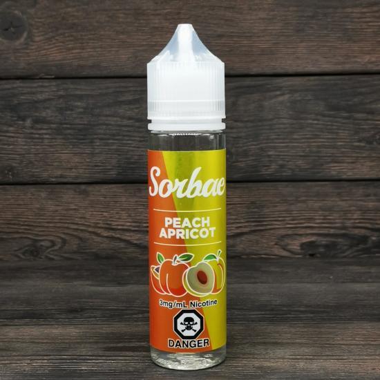 Жидкость Sorbae Peach Apricot 60мл 3мг | оригинал