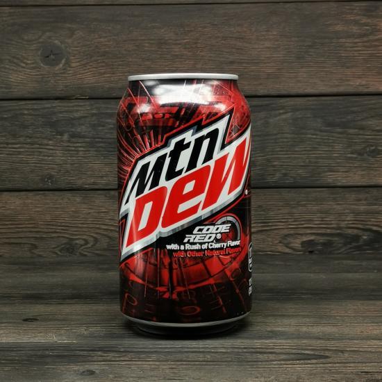 Напиток Mountain Dew Code Red 0,355л | оригинал
