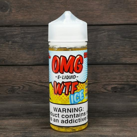 Жидкость O.M.G. E-Liquids WTF Ice 120мл 3мг | оригинал