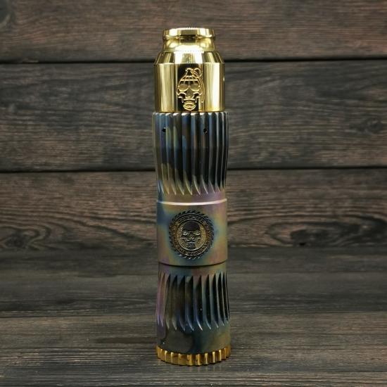 Сетап Comp Lyfe Hacksaw 21700/ Grenade Cap/ BD#24 (Анодированный Титан) | оригинал