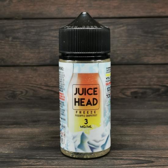 Жидкость Juice Head Pineapple Grapefruit FREEZE 100мл 3мг | оригинал