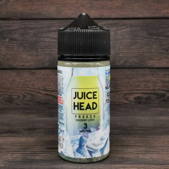Жидкость Juice Head Blueberry Lemon FREEZE 100мл 3мг   оригинал