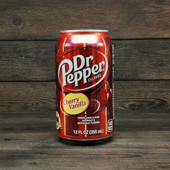 Напиток Dr. Pepper Vanilla Cherry 0.355л | оригинал