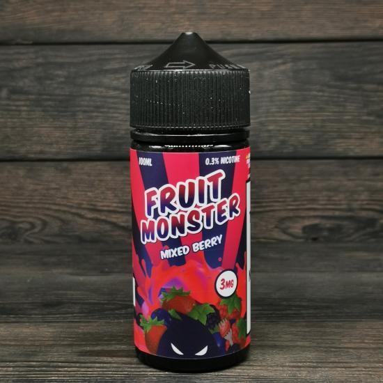 Жидкость Fruit Monster Mixed Berry 100мл 3мг | оригинал