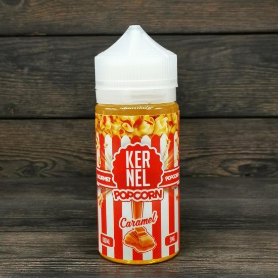 Жидкость Kernel Popcorn Caramel 100мл 3мг | оригинал