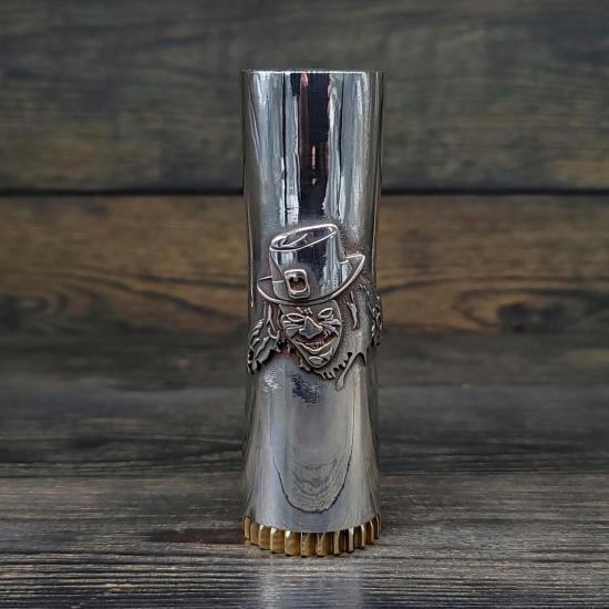 "Мехмод Comp Lyfe ""The Leprechaun"" Black Diamond Solid Silver 21700 Limited Edition 1/1 | оригинал"