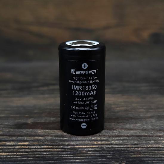 Аккумулятор 18350 KeepPower 1200mAh | оригинал