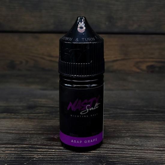 Жидкость Nasty Juice Salt Asap Grape 30мл 20мг   оригинал