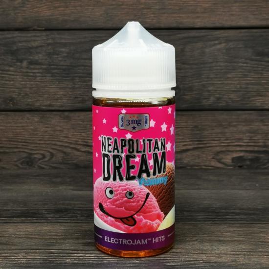 Жидкость ElectroJam Neopolitan Dream 100мл 3мг | оригинал