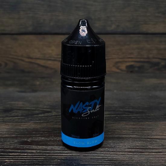 Жидкость Nasty Juice Salt Slow Blow 30мл 20мг   оригинал