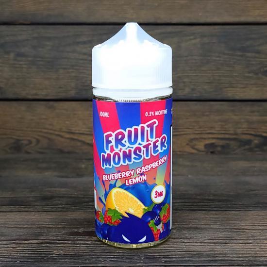 Жидкость Fruit Monster Blueberry Raspberry Lemon 100мл 3мг | оригинал