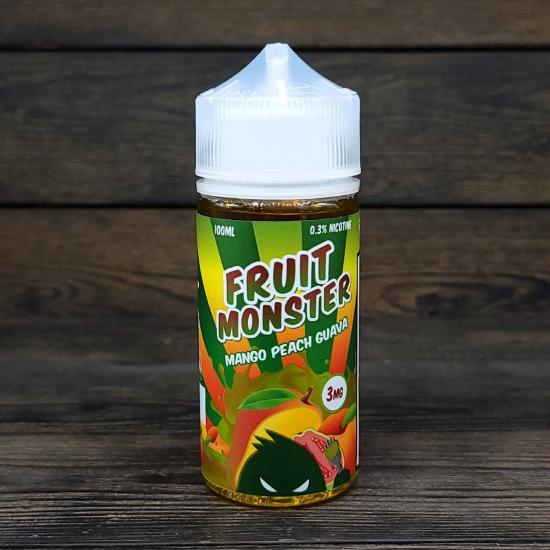 Жидкость Fruit Monster Mango Peach Guava 100мл 3мг | оригинал