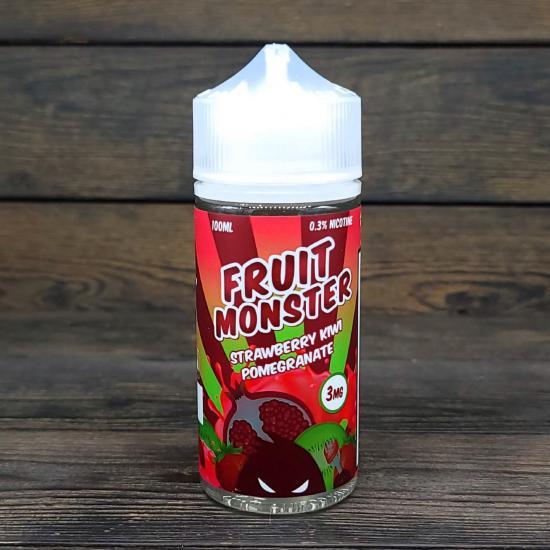 Жидкость Fruit Monster Strawberry Kiwi Pomegranate 100мл 3мг | оригинал