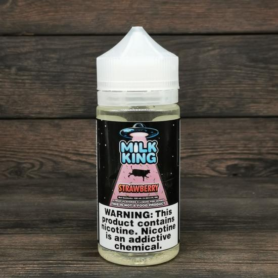 Жидкость Milk King Strawberry 100мл 0мг | оригинал