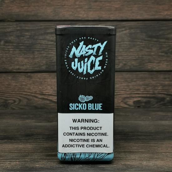 Жидкость Nasty Berry Sicko Blue  60мл 3мг   оригинал