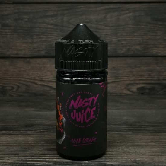 Жидкость Nasty Juice Asap Grape 60мл 3мг   оригинал
