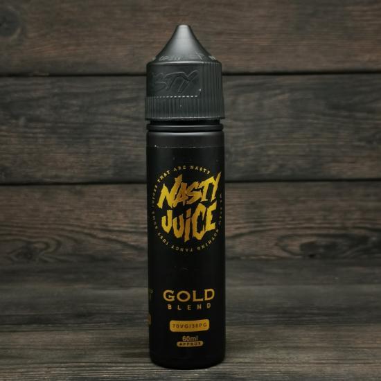 Жидкость Nasty Juice Gold Tobacco 60мл 6мг | оригинал