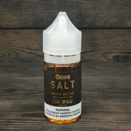 Жидкость Okami Salt Haute Mocha 30мл 25мг | оригинал