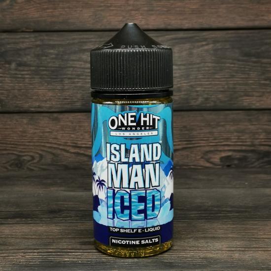 Жидкость One Hit Wonder ICED Island Man 100мл 3мг   оригинал