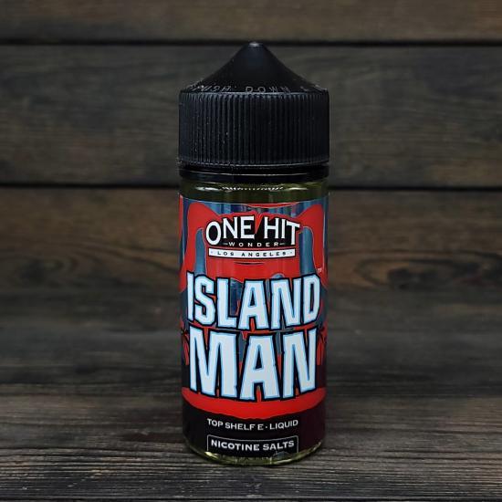 Жидкость One Hit Wonder Island Man 3мг 100мл   оригинал