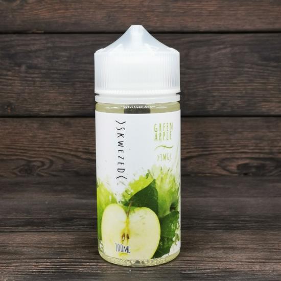 Жидкость Skwezed Green Apple 100мл 3мг | оригинал