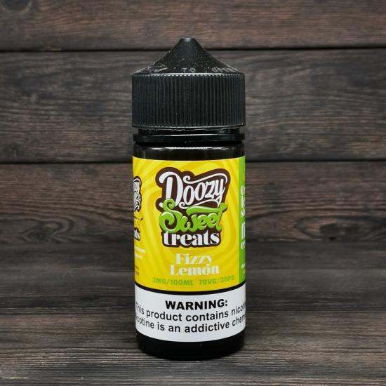 Жидкость Doozy Sweet Treats Fizzy Lemon 100мл 3мг   оригинал
