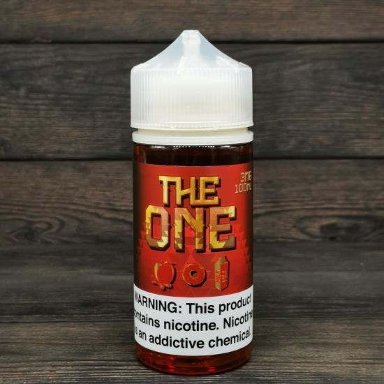 Жидкость The One Apple Cinnamon 100мл 3мг   оригинал