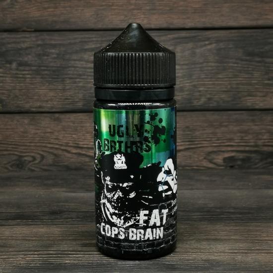 Жидкость Ugly Brthrs Fat Cops Brain 100мл 3мг | оригинал