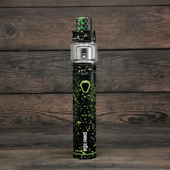Комплект SMOK Stick Prince Kit (Черный/Зеленые капли) | оригинал