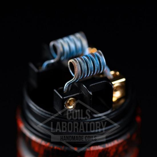 Намотка Coilslab Alien 0.07Ω 3mm (3x0.4ss+0.1n80)   оригинал