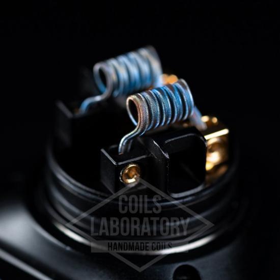 Намотка Coilslab Alien 0.12Ω 3mm (3x0.4a1+0.1n80)   оригинал