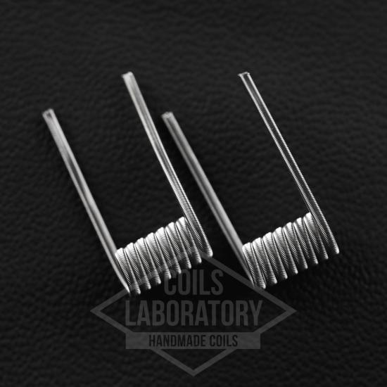Намотка Coilslab Alien 0.21Ω 3mm (2x0.4n80+0.1n80) | оригинал