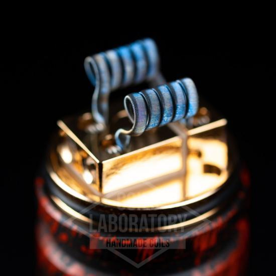 Намотка Coilslab Framed Staple 0.07Ω 3mm (2x0.4n80+6x0.5*0.1n80+0.1n80) | оригинал