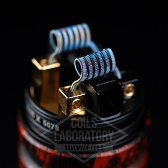 Намотка Coilslab Fused 0.11Ω 3mm (2x0.4ss+0.1n80)   оригинал