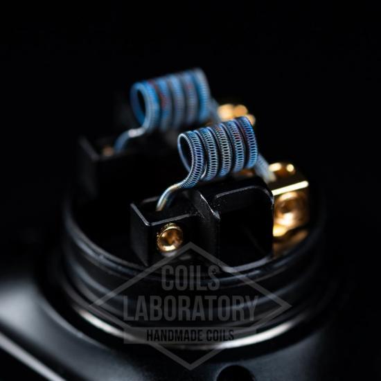 Намотка Coilslab Staggered 0.20Ω 3mm (2x0.4a1+0.1n80) | оригинал