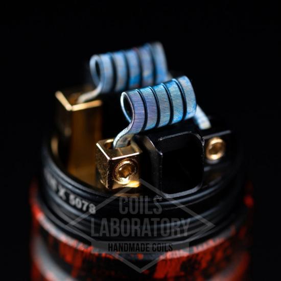 Намотка Coilslab Staple 0.08Ω 3mm (12x0.5*0.1n80+0.1n80) | оригинал
