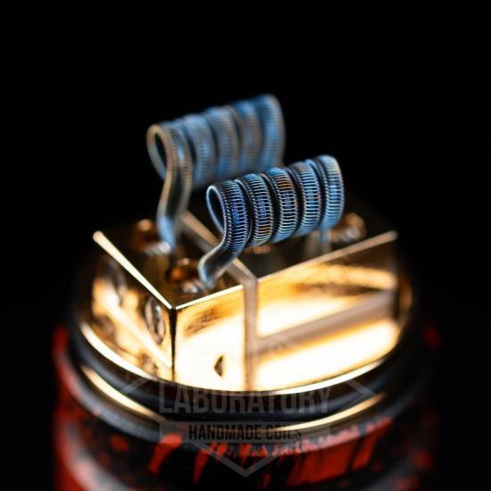 Намотка Coilslab Staple Staggered 0.08Ω 3mm (2x0.4n80+4x0.5*0.1n80+0.1n80) | оригинал