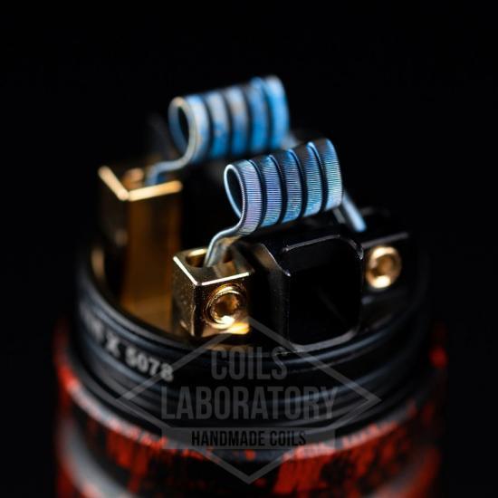 Намотка Coilslab Triple Fused 0.07Ω 3mm (3x0.4ss+0.1n80) | оригинал