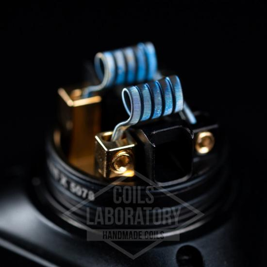 Намотка Coilslab Triple Fused 0.12Ω 3mm (3x0.4a1+0.1n80)   оригинал