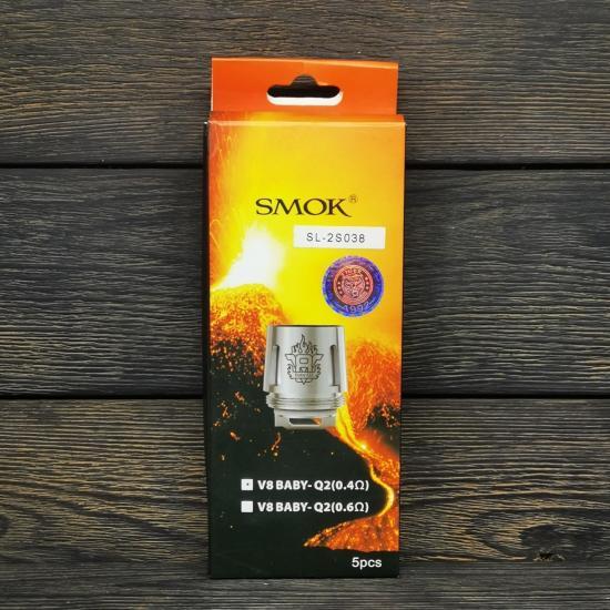 Сменный испаритель SMOK V8 Baby-Q2 0.4Ω | оригинал