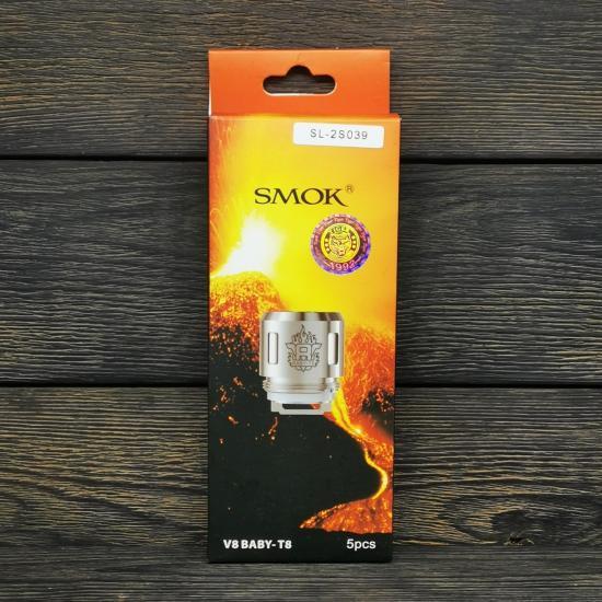 Сменный испаритель SMOK V8 Baby-T8 0.15Ω   оригинал