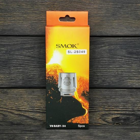 Сменный испаритель SMOK V8 Baby-X4 0,15Ω | оригинал